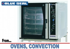 OVENS CONVECTION by BLUE SEAL - K.F.Bartlett LtdCatering equipment, refrigeration & air-conditioning